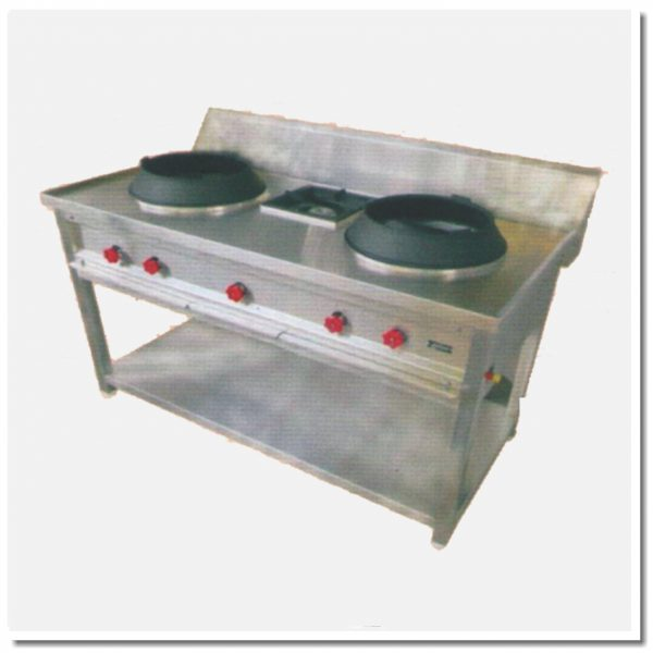 chinese three burner stand