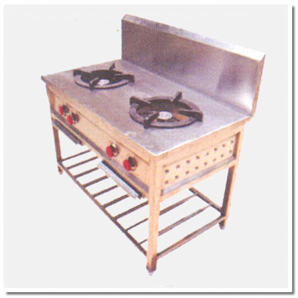Two Burner Cooking Range