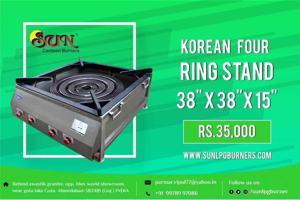 Korean Four Ring Stand